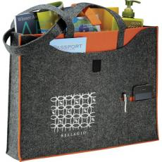Tote Bags General - Owl<sup>®</sup> - 100% recycled felt business tote