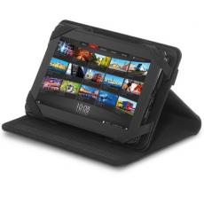 "Tradeshow & Event Supplies - Brookstone<sup>®</sup> - Black leather table stand for 7"" tablets"