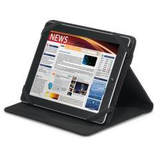 Tradeshow & Event Supplies - Travis & Wells<sup>™</sup> - Leather tablet stand with elastic strap closure