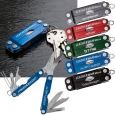 "Key Holders General - Leatherman<sup>®</sup>;Micro<sup>®</sup> - Combination knife set with various miniature tools. 10 tools in one.  2 1/2"" closed"