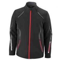 Performance Apparel - North End Sport<sup>®</sup>;Pursuit - S-XL -  Men's 3-layer light bonded hybrid soft shell jacket with laser perforation