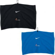 Home & Family - Nike<sup>®</sup> - Embroidered towel with carabiner attachment system