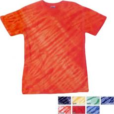 T-Shirts - Dyenomite<sup>™</sup> - Youth tiger stripe tie dye cotton t-shirt. Blank