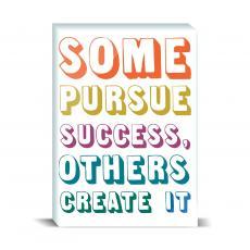 Modern Motivation - Create Success Desktop Print