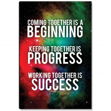 Coming Together Inspirational Art