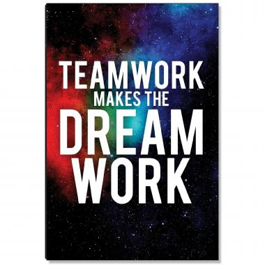 Teamwork Inspirational Art