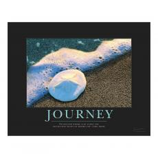 Journey Sand Dollar Motivational Poster