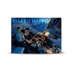 Modern Motivational Cards - Make It Happen Infinity Edge 25-Pack Greeting Cards