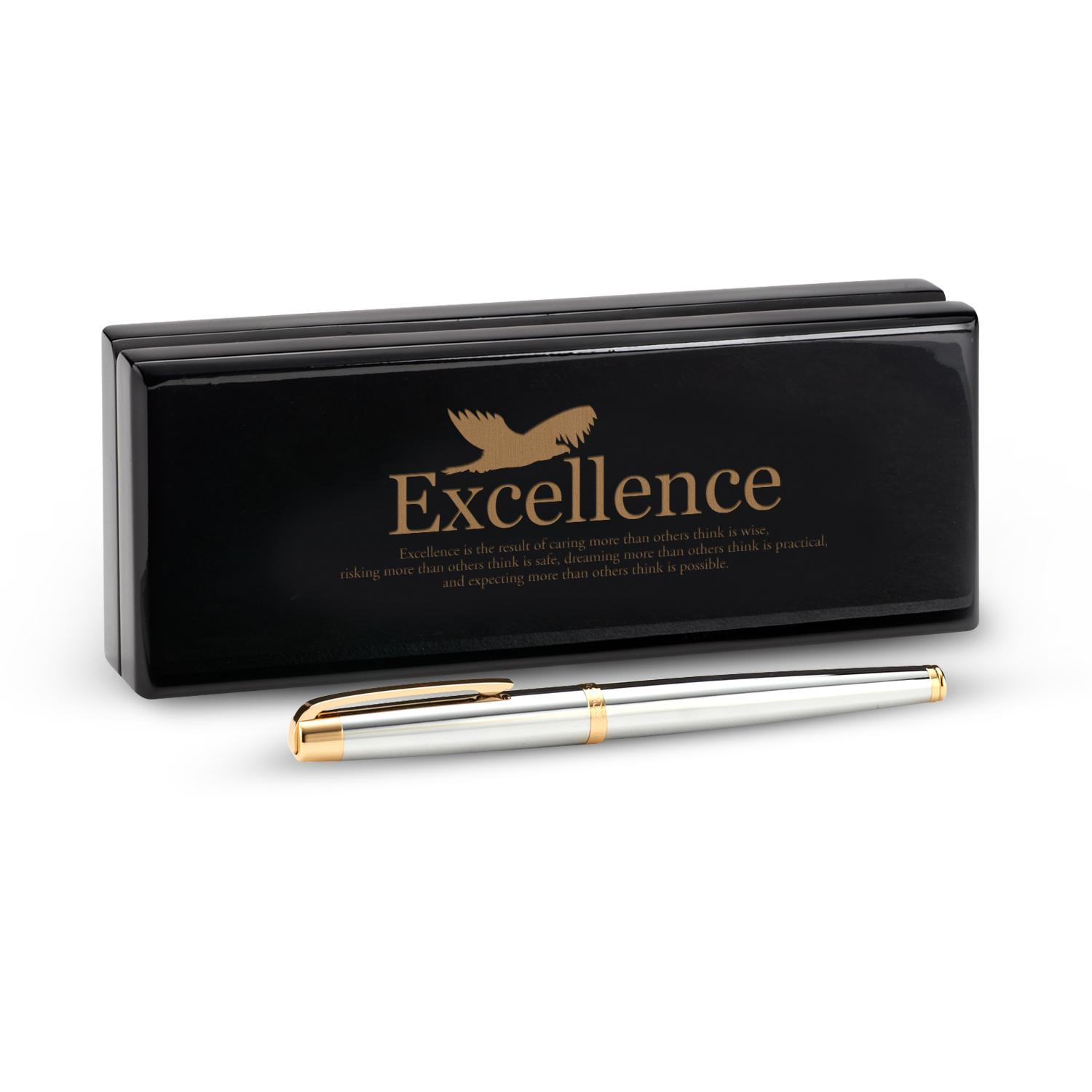 Marquis by Waterford Pen and Case-Excellence Eagle