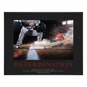 Determination Baseball Motivational Poster