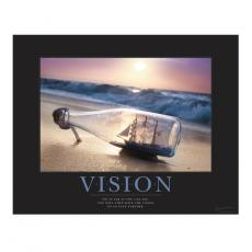 Classic Motivational Posters - Vision Ship Motivational Poster