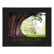 Strength Tree Motivational Poster Classic (732328)