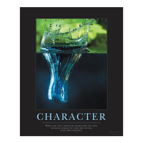 Character Rock Motivational Poster