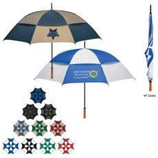 Home & Family - Vented, windproof umbrella withstands wind gusts up to 55 mph