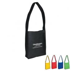 Messenger Bags - Non-woven messenger tote bag with Velcro<sup>®</sup> closure