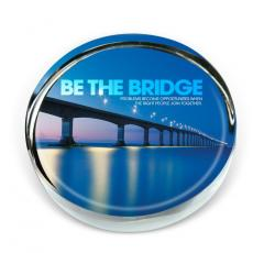 Be The Bridge Positive Outlook Paperweight