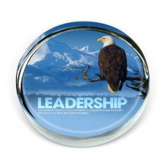 Co-Worker Gifts - Leadership Eagle Positive Outlook Paperweight