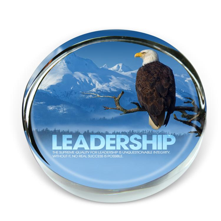 Leadership Eagle Positive Outlook Paperweight