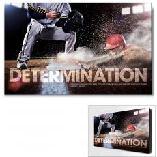 All Motivational Posters - Determination Baseball Motivational Art