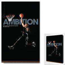 Modern Motivational Art - Ambition Basketball Motivational Art