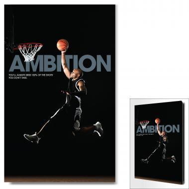 Ambition Basketball Motivational Art