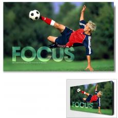 Focus Soccer Infinity Edge Wall Decor