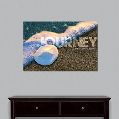 Journey Sand Dollar Motivational Art