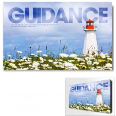 Modern Motivational Art - Guidance Lighthouse Motivational Art