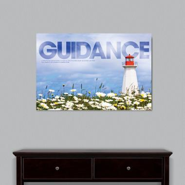 Guidance Lighthouse Motivational Art