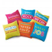 Tossable Inspiration Mini Pillows Teacher Gift (722356)