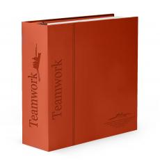 Desktop Motivation - Teamwork Rowers 3-Ring Binder