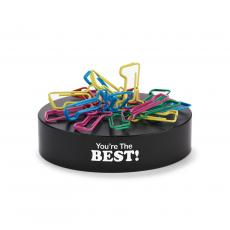 You're The Best Magnetic Paper Clip Sculptures
