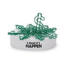 Make It Happen Magnetic Paper Clip Sculptures