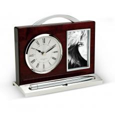 Executive Photo Desk Clock