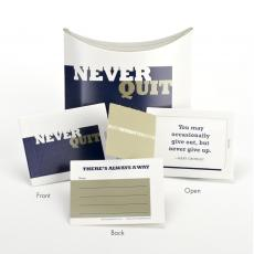 Never Quit Little Notes Pop-Open Cards