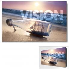 Modern Motivational Art - Vision Ship Motivational Art