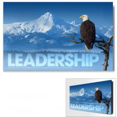 Modern Motivational Art - Leadership Eagle Motivational Art