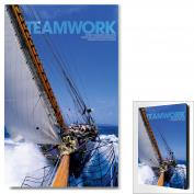 Teamwork Sailboat Motivational Art  (703808)