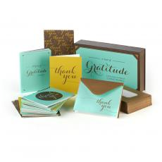 Note Cards - Gratitude Greeting Card Box