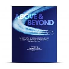 Above & Beyond Infinity Award Plaque