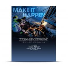 Make It Happen Infinity Award Plaque
