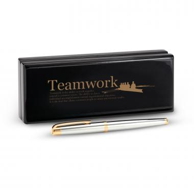 Marquis by Waterford Pen and Case-Teamwork Rowers