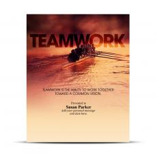 Teamwork Rowers Infinity Award Plaque