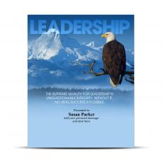 Leadership Eagle Infinity Award Plaque