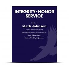 Shop by Industry - Military Industry Award Plaques