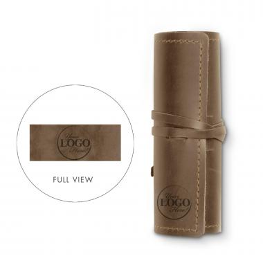 Personalized Leather Roll Up