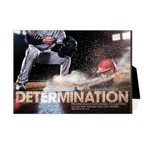 Determination Baseball Desktop Print