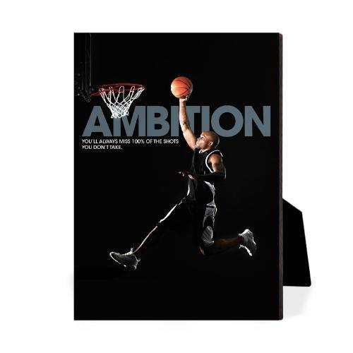 Ambition Basketball Desktop Print
