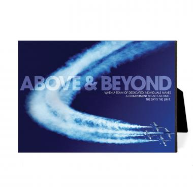 Above & Beyond Desktop Print