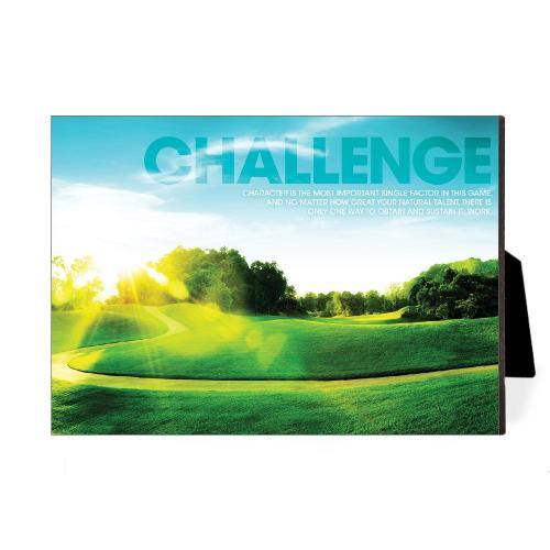 Challenge Golf Desktop Print